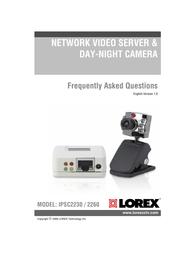 Lorex IPSC2260 User Manual