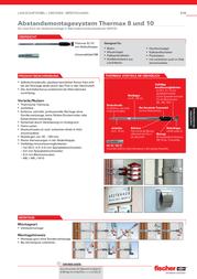 Fischer 045690 fischer Thermax 8 mm Galvanised steel /Nylon 8 mm 1 pc(s) 045690 Leaflet
