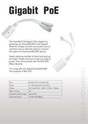 Mikrotik RBGPOE Leaflet