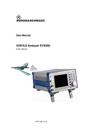 Procom VOR/ILS Analyzer EVS200 User Manual