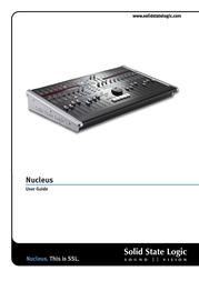 Solid State Logic 82BN0M01A User Manual