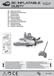 Dickie Toys RC Inflatable Planes Dusty 201120003 Data Sheet