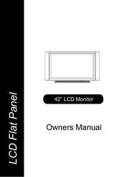 Maxent ml-42hlm20 User Manual