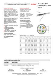 Molex CAA-00325 Leaflet