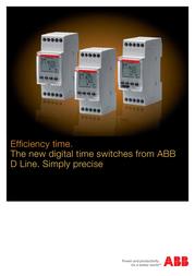 ABB D2 2CSM256313R0621 User Manual