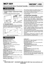 Visonik Autophonics Home Security System MCT-501 User Manual
