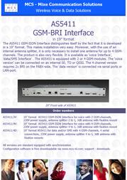 MCS AS5411/4V P108512 Leaflet