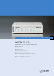 Lancom Systems DSL/I-10+ LS61133 User Manual
