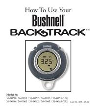 Bushnell BackTrack User Guide