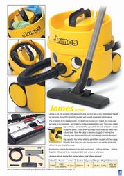 Numatic James JVP180A JVP180A Leaflet