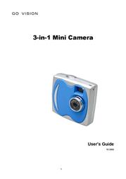 ArcSoft Go Vision 3-in-1 Mini Camera User Manual
