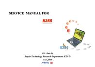 MiTAC mitac 8355 User Manual