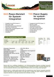 Rasurbo Basic & Power 450CL - 450 W 450CL Leaflet