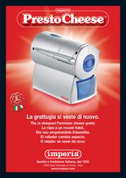 Imperia Presto Cheese 800 User Manual