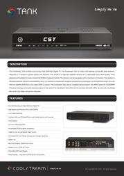 CoolStream Trinity 10014636 User Manual