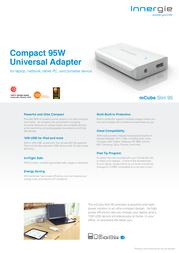 Innergie mCube Slim 95 ADP-95CBAC Leaflet