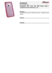 Phonix IP4GDUOP Leaflet