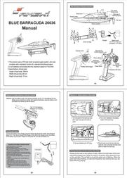 Amewi Barracuda Mini 26036 Data Sheet