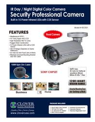 Clover Technologies Group HDC501 Leaflet