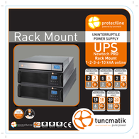 Tuncmatik Newtech Pro 10 kVA LCD Rack-Mount NEWTECH-PRO-R10KVA User Manual