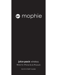 Mophie juice pack wireless Owner's Manual
