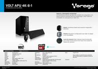 Vorago VOLT APU 4K-8-1 Leaflet