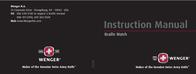 Wenger TerraGraph User Manual