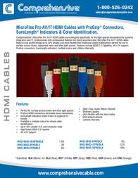 Comprehensive MHD-MHD-12PROWHT Leaflet