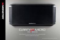 Monster ClarityHD Micro Black MP3 Player Speaker, Black 133257 User Manual