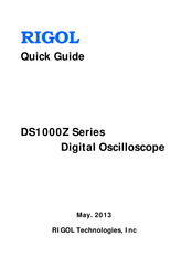 Rigol MSO1074Z-S 4-channel oscilloscope, Digital Storage oscilloscope, MSO1074Z-S User Manual