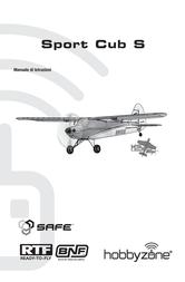 Hobby Zone Sport Cub S HBZ4400 Data Sheet