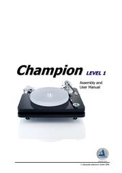 ClearAudio Champion User Manual