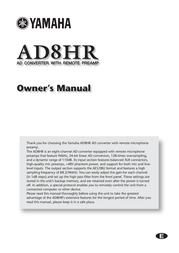 Pacific Digital AD8HR User Manual
