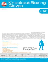 CTA Digital WI-KBG Leaflet