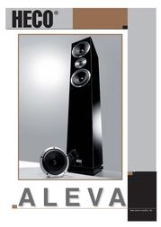 Heco Aleva 200 ALEVA 200 S User Manual