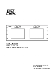 ToteVision lcd-1042ts User Guide
