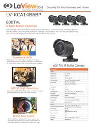 Laview LV-KCA14B6BP Leaflet
