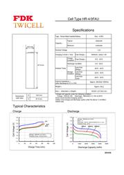 Fdk 4/3 FA AKKU 4500 MAH 106456 Data Sheet