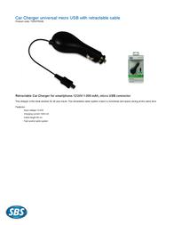 SBS TE0APR040 Leaflet
