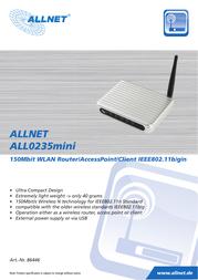 ALLNET ALL0235MINI User Manual