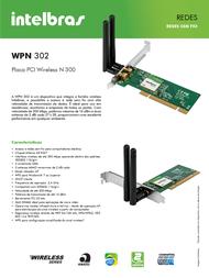 Intelbras WPN 302 4005069 Leaflet