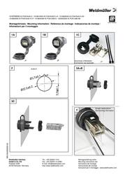 Weidmueller Weidmüller 1018790000 IE-FCM-RJ45-C RJ45 Socket, build-in Black 1018790000 Leaflet