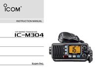 ICOM iM304 User Manual