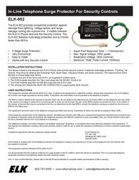 ELK 952 Leaflet