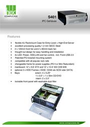 Compucase S401BS-atx S401BS-ATX Leaflet