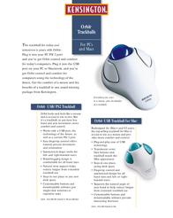 Acco Orbit® -USB/PS2 64226 Leaflet
