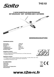 T2m remote control ARF 1806 mm T4510 Data Sheet