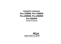 Whistler Power Supply PRO-1200W User Manual