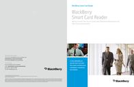 BlackBerry Smart Card Reader PRD-09695-004 Leaflet