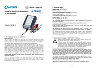 H Tronic AL800, 2-12V Lead Acid Battery Charger, 0.8A, 1.2-40Ah 2243218 User Manual
